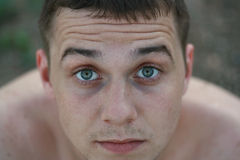 Jonge mensenportret Stock Afbeelding
