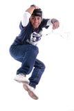 Jonge mensensprong stock afbeelding