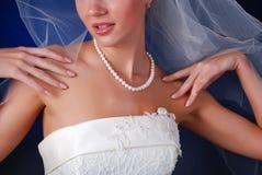 Jonge mooie bruid stock afbeelding