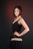 Jonge mooie brunette. Stock Foto