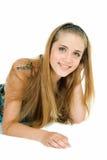 Jonge mooie glimlach Royalty-vrije Stock Fotografie