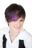 Jonge mooie glimlachende vrouw Royalty-vrije Stock Fotografie