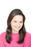 Jonge mooie glimlachende vrouw Royalty-vrije Stock Foto's