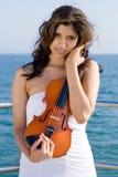 Jonge mooie Indische vrouw stock foto's