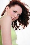 Jonge mooie sexy donkerbruine vrouw Stock Fotografie