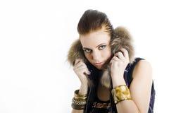 Jonge mooie sexy partijvrouw Royalty-vrije Stock Fotografie