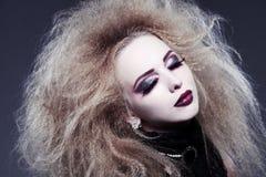 Jonge mooie vampier Stock Foto's