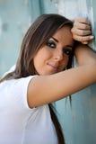Jonge mooie vrouw Stock Foto
