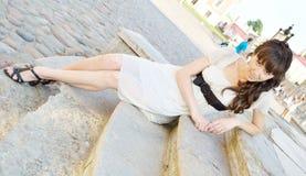 Jonge mooie vrouw royalty-vrije stock foto's