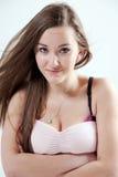 Jonge mooie vrouw Royalty-vrije Stock Afbeeldingen