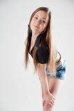 Jonge mooie vrouw royalty-vrije stock fotografie