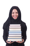 Jonge moslim vrouwelijke student Royalty-vrije Stock Fotografie