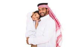 Jonge moslimmensenzoon royalty-vrije stock foto's