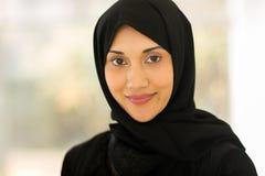 Jonge Moslimvrouw royalty-vrije stock afbeeldingen