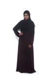 Jonge Moslimvrouw in hoofdsjaal Stock Fotografie