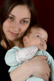 Jonge mum Stock Foto