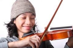 Jonge musicus royalty-vrije stock afbeelding