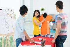 Jonge ontwerpers Stock Foto's