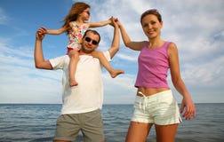 Jonge ouders royalty-vrije stock foto