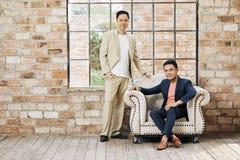 Jonge Partners royalty-vrije stock afbeeldingen