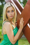 Jonge portretvrouwen Royalty-vrije Stock Fotografie