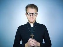Jonge predikant royalty-vrije stock afbeeldingen