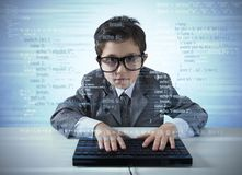 Jonge programmeur Royalty-vrije Stock Foto