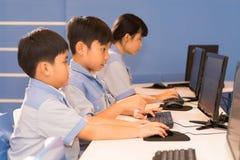 Jonge programmeurs Stock Fotografie