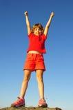 Jonge rots-klimmer Stock Afbeelding