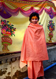 Jonge sadhu met voorhoofdmake-up, simhasth mela 2016, Ujjain India van Maha kumbh Stock Fotografie