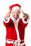 Jonge Santa Claus Stock Foto