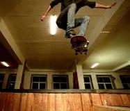 Jonge schaatser Stock Fotografie