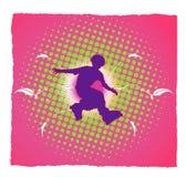 Jonge schaatservector Royalty-vrije Stock Afbeelding