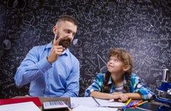 Jonge schoolleraar Stock Afbeeldingen