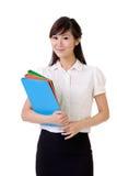 Jonge secretaresse Stock Foto