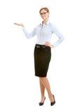 Jonge secretaresse royalty-vrije stock foto