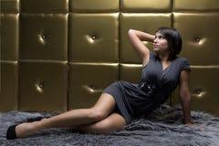 Jonge sexy vrouw Stock Foto