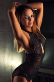 Jonge Sexy Vrouw Stock Afbeeldingen