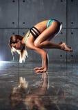 Jonge sportenvrouw Royalty-vrije Stock Foto