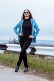 Jonge sportvrouw Stock Foto's