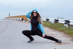 Jonge sportvrouw Royalty-vrije Stock Foto