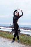 Jonge sportvrouw Royalty-vrije Stock Fotografie