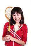 Jonge sportvrouw Stock Foto