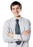 Jonge student of bedrijfsmens royalty-vrije stock foto
