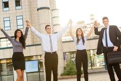 Jonge succesvolle bedrijfsmensen Stock Fotografie