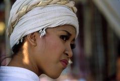 Jonge Tai vrouw stock afbeeldingen