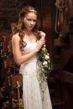 Jonge tedere bruid Royalty-vrije Stock Afbeelding