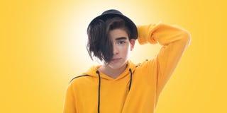 Jonge tiener in royalty-vrije stock afbeelding
