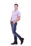 Jonge toevallige mens Royalty-vrije Stock Fotografie