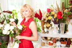 Jonge tuinman Royalty-vrije Stock Foto's